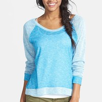 Starling Colorblock Raglan Sweater (Juniors) (Online Only)