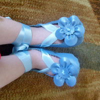 Leather Soft Sole Ballet Flat Shoes Infant Girls by BebeSophie