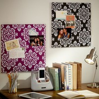 Damask Ikat No Nails Pinboards