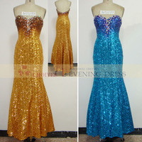 AO71093 sequin mermaid prom dress | evening sequins beaded dresses | long sequin prom dress, View evening sequins beaded dresses, CHOIYES Product Details from Chaozhou Choiyes Evening Dress Co., Ltd. on Alibaba.com