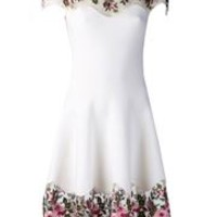Blumarine Floral Macrame Dress - Marissa Collections - Farfetch.com