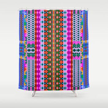 Trip #3 Shower Curtain by Ornaart