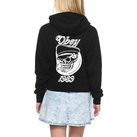 Obey Devious Scumbag Black Hoodie
