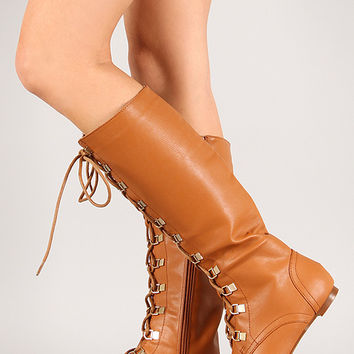 Bumper Vicky-08 Gold Toe Lace Up Boot