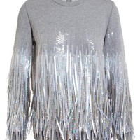 ASHISH | Fringed Sequin Sweatshirt | Browns fashion & designer clothes & clothing