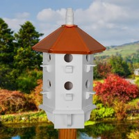 Bird House Purple Martin Birdhouse Handcrafted Wood by BeeGracious