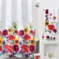 Lenox Garden Graffiti Shower Curtain