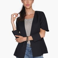 Cut Out Blazer