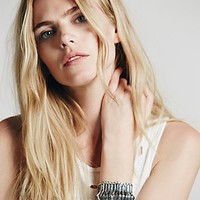 Free People Womens Metal Spine Cuff -