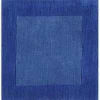 Mystique Collection Wool Area Rug in Blue - Surya Rugs