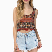 Just Be Free Crop Top $21