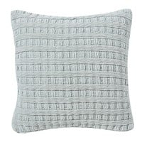 BASKETWEAVE CHENILLE PILLOW COVER