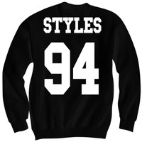 HARRY STYLES SWEATSHIRT DIRECTIONER JERSEY SHIRT ONE DIRECTION CONCERT TICKETS 1 DIRECTION MERCH CELEBRITY SHIRTS GREAT BIRTHDAY GIFTS BIRTHDAY SHIRT