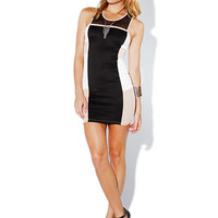 Papaya Clothing Online :: COLOR BLOCK BODYCON DRESS