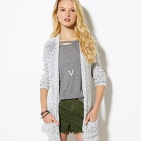 AE Open Knit Cardigan