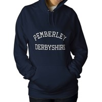 Pemberley, Derbyshire England Jane Austen hoodie Embroidered Hoody from Zazzle.com