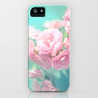 Pink rose photo dreamy bokeh photo iPhone & iPod Case by Mercedes | Society6