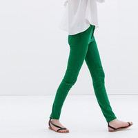 5 POCKET COLORED TROUSERS