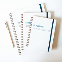 Delfonics Rollbahn Notebook White