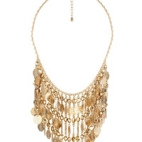 Coin Fringe Necklace | FOREVER21 - 1000049413