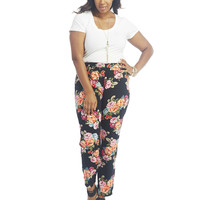 Printed Soft Pants | Wet Seal