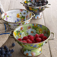 MacKenzie-Childs &quot;Flower Market&quot; Colanders - Neiman Marcus