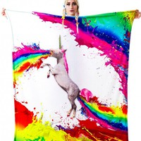 Beloved Shirts Unicorn Spew Blanket | Dolls Kill