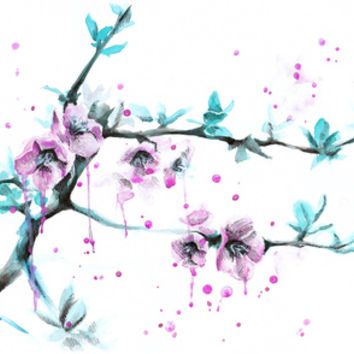 Spring Stretched Canvas by eDrawings38   Society6