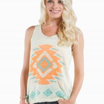THE CLASSIC AZTEC HACCI GRAPHIC TANK