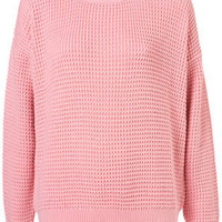 Petite Textured Jumper - New In This Week - New In - Topshop USA