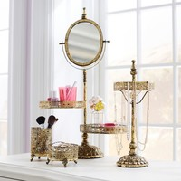 Filigree Beauty + Jewelry Storage Collection