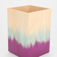 Striped Plywood Trashcan - Urban Outfitters