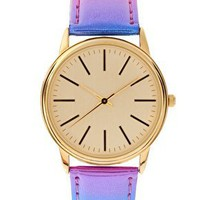 ASOS | ASOS Multi Colour Metallic Watch at ASOS