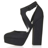SHELL Asymmetric Platforms - Black