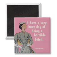 Busy day refrigerator magnet from Zazzle.com