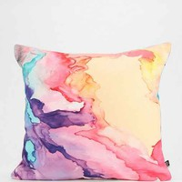 R. Brown For DENY Color My World Pillow - Urban Outfitters