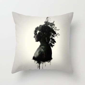 Mother Earth Throw Pillow by Nicklas Gustafsson