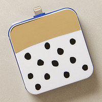 Gold Bar Dotted iPhone 5 Backup Battery