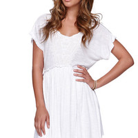 Billabong Something For You Dress - Womens Dress - White