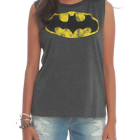 DC Comics Batman Striped Muscle Girls Top