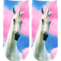 REAL UNICORN SOCKS