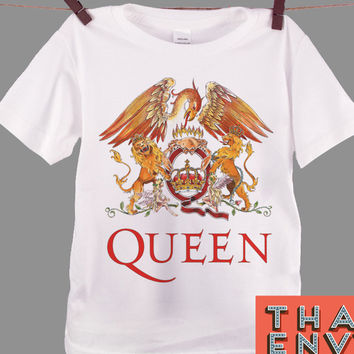 Queen Logo Kids T Shirt - Rock Alternative Music T Shirts