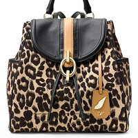 Sutra Leopard Jacquard Backpack