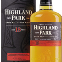 Highland Park 18 Yr Scotch