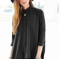 byCORPUS Oversized Square Button-Down Shirt - Urban Outfitters