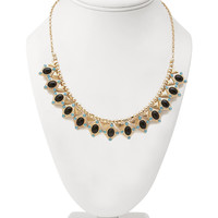 Faux Stone Deco Necklace
