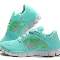 Nike Free Run 3.0 running shoes with Swarovski Crystals