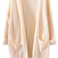 All-Matching Solid Knit Cardigan