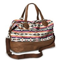 Mossimo Supply Co. Duffle Weekender Handbag - Multicolored