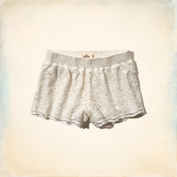 Hollister Drapey Lace Short-Shorts